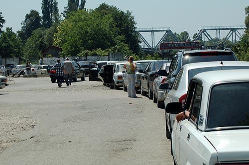 На машине в Абхазию