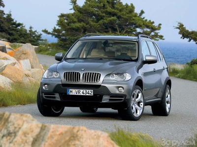 BMW X5, 2007, 3,0 si, новый кузов, камера заднего вида, панорамный люк, парктроники, навигация, DVD, TV тюнер, подогрев сидений,