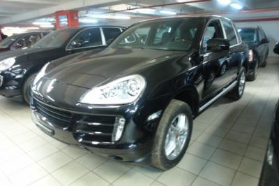 Porsche Cayenne 3.6 New 290hp 2007 европейский черная кожа климат би-ксенон TV  Bose CD6 активная подвеска гарантия