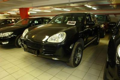 Porsche Cayenne S New 2006 340hp черная кожа би ксенон панорамная крыша Bose CD6 гарантия