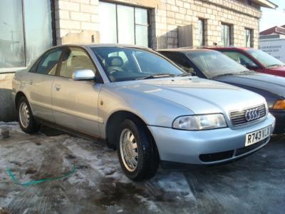 Audi A4, 1998, 1.9 TDI dizel. Цвет серебро, Автомобиль из Великобритании - руль с правой стороны!!! автомобиль в отличном состоя